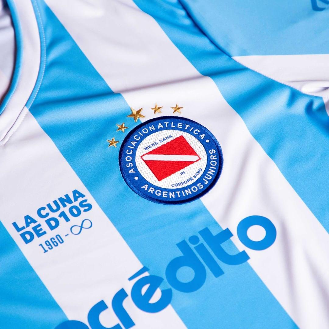 Terceira camisa do Argentinos Juniors 2021-2022 Umbro