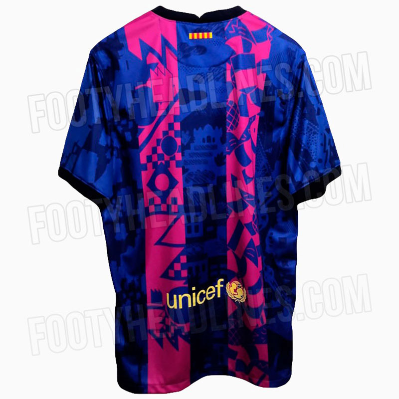 Terceira camisa do Barcelona UCL 2021-2022 Nike