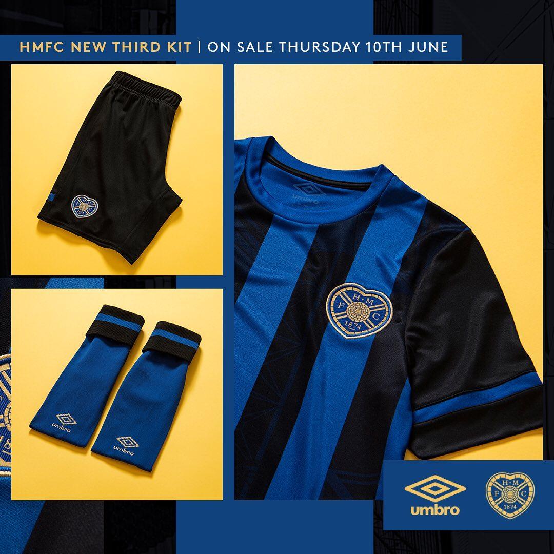 Terceira camisa do Heart of Midlothian 2021-2022 Umbro