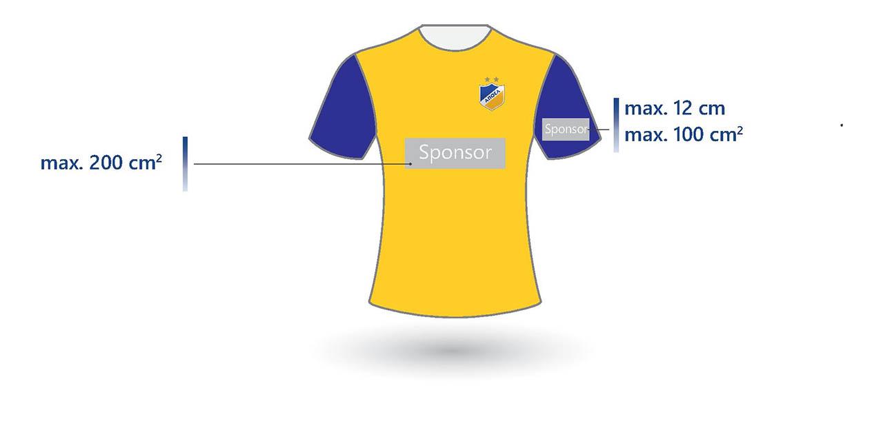 UEFA Patrocínio Manga 2021