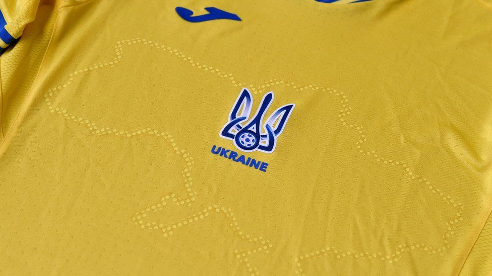 Ucrânia camisa Euro 2020