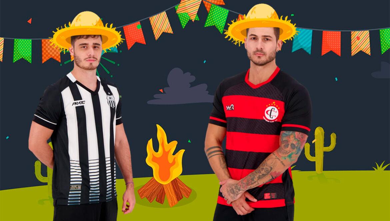 7 camisas de futebol para entrar no clima da Festa de São João