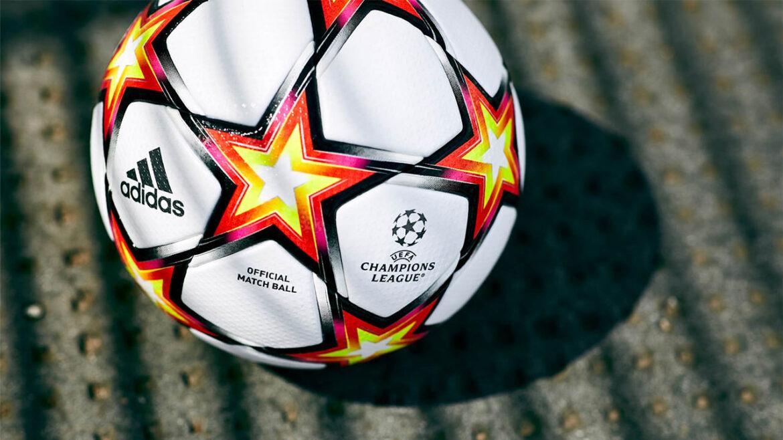 Adidas pyrostorm 2021-2022 Champions League bola a