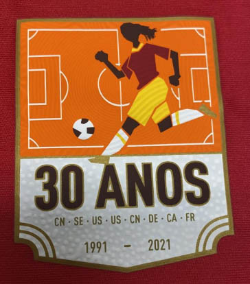 Adidas celebra 30 anos de 1ª Copa feminina com camisas para Flamengo, Cruzeiro e Internacional