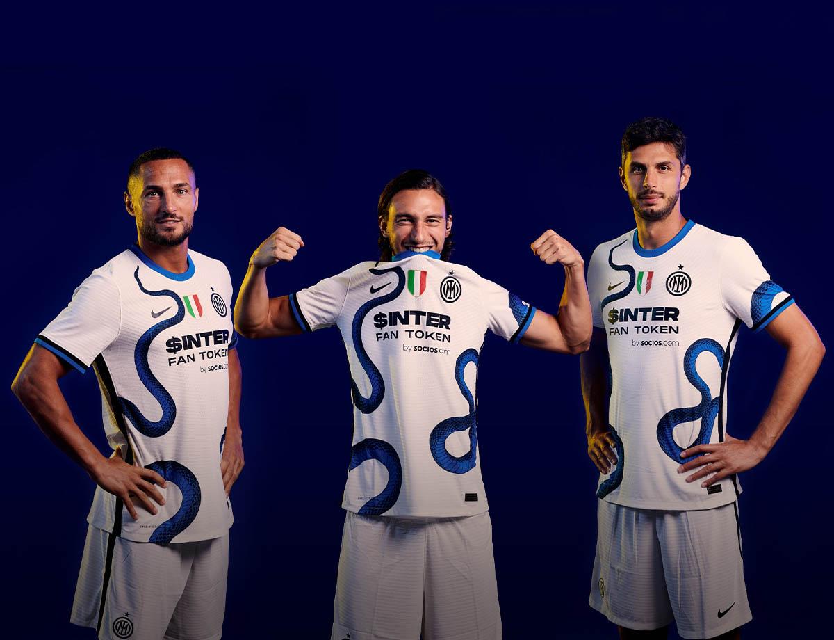 Camisa reserva da Inter de Milão 2021-2022 NIke