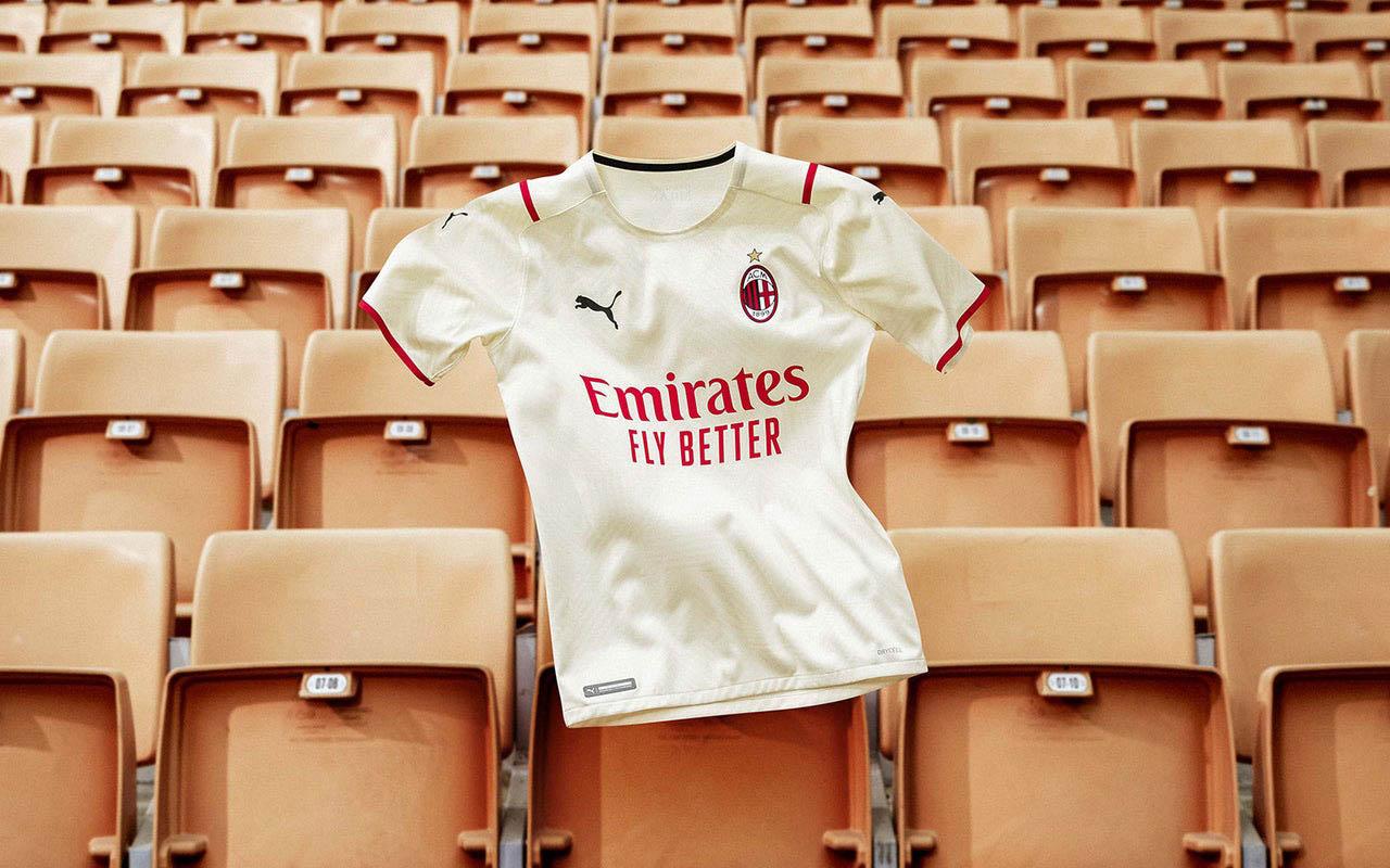 Camisa reserva do AC Milan 2021-2022 PUMA