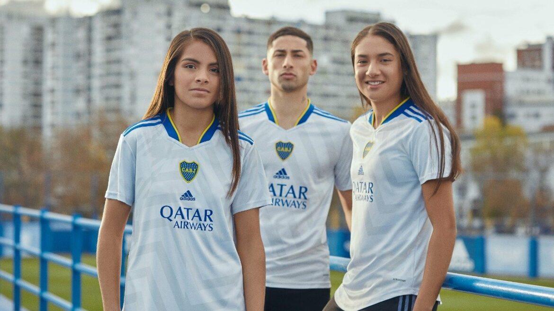 Camisa reserva do Boca Juniors 2021-2022 Adidas a