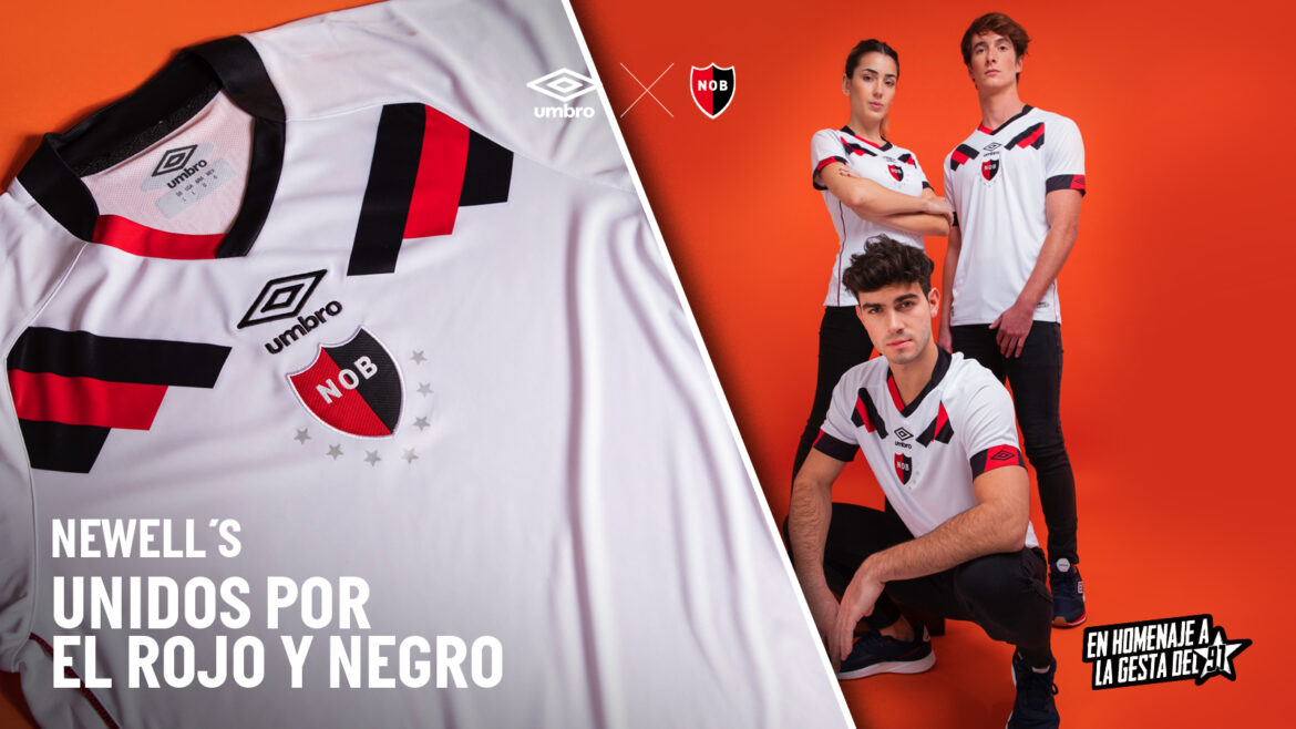 Camisa reserva do Newell's Old Boys 2021-2022 Umbro a
