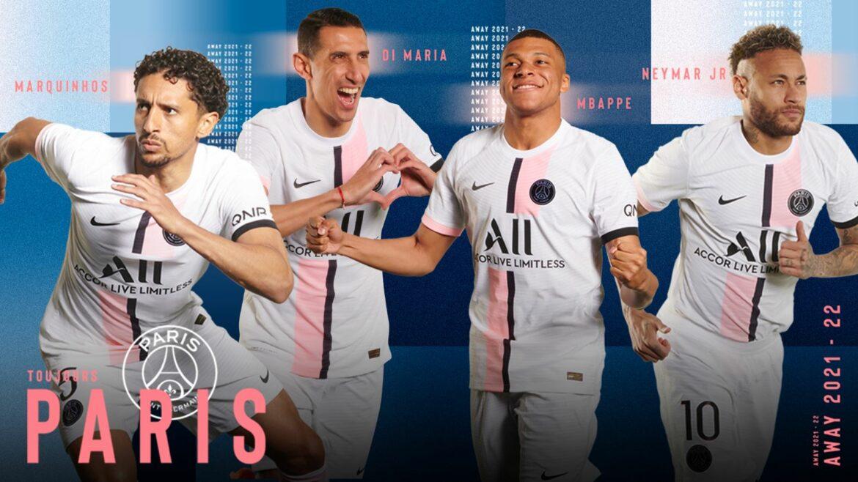 Camisa reserva do PSG 2021-2022 Nike