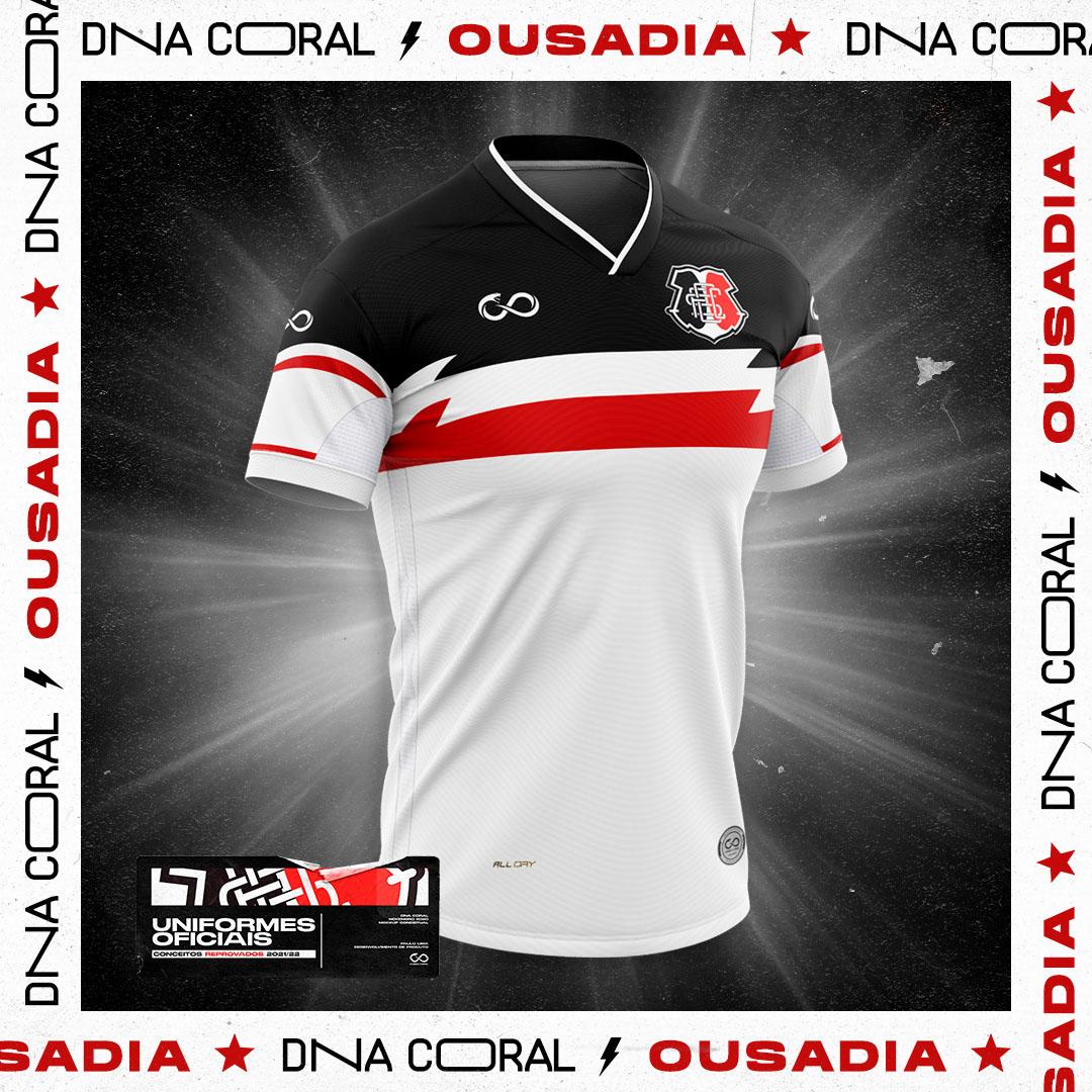 Camisa vetada do Santa Cruz 2021 Cobra Coral