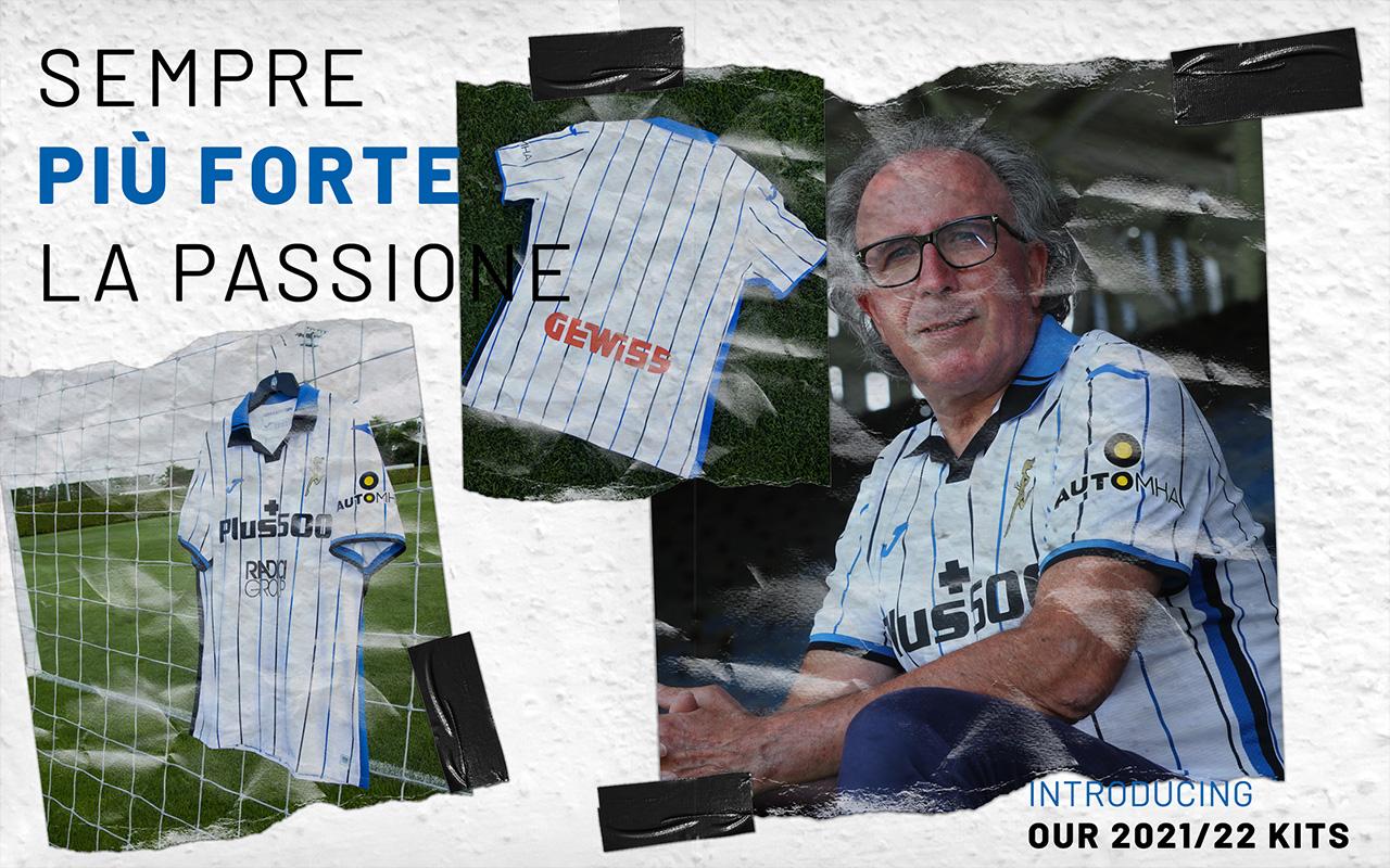 Camisas da Atalanta 2021-2022 JOMA Away