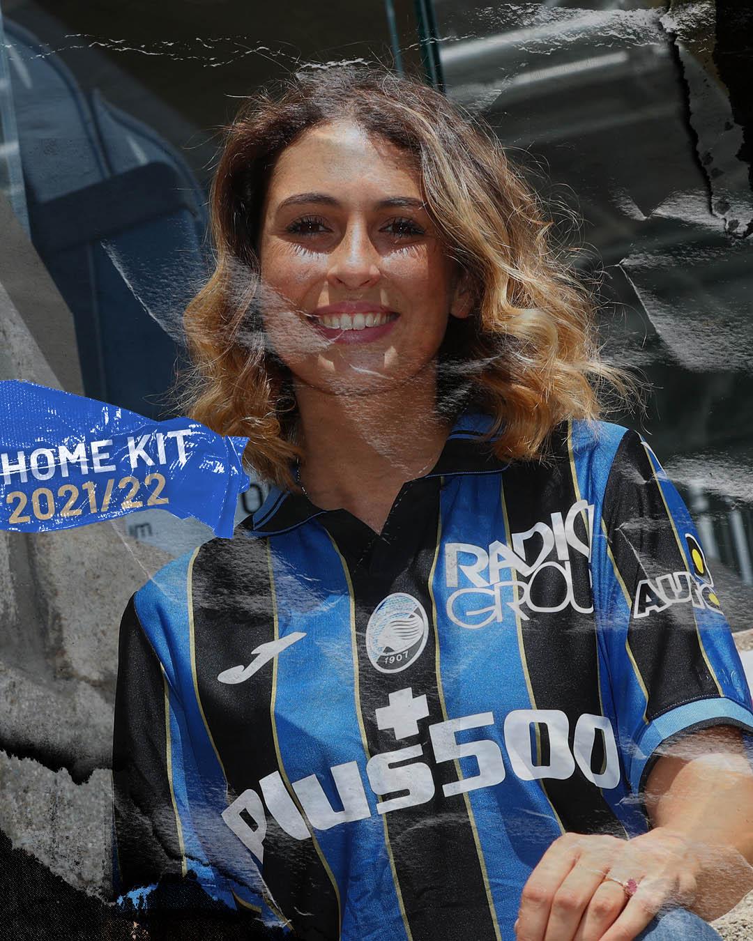 Camisas da Atalanta 2021-2022 JOMA Home