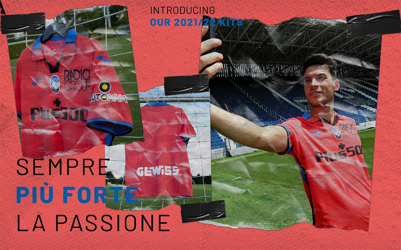 Camisas da Atalanta 2021-2022 JOMA Third