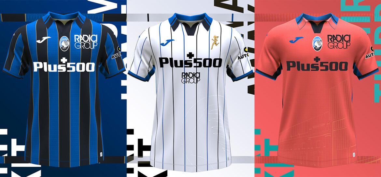 Camisas da Atalanta 2021-2022 JOMA a