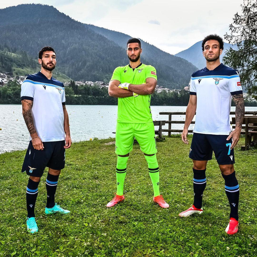 Camisas da Lazio 2021-2022 Macron