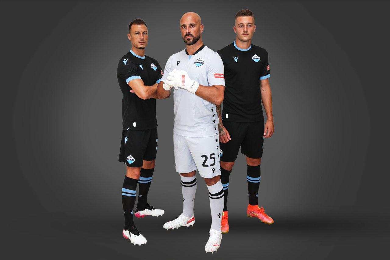 Terceira camisa da Lazio 2021-2022 Macron