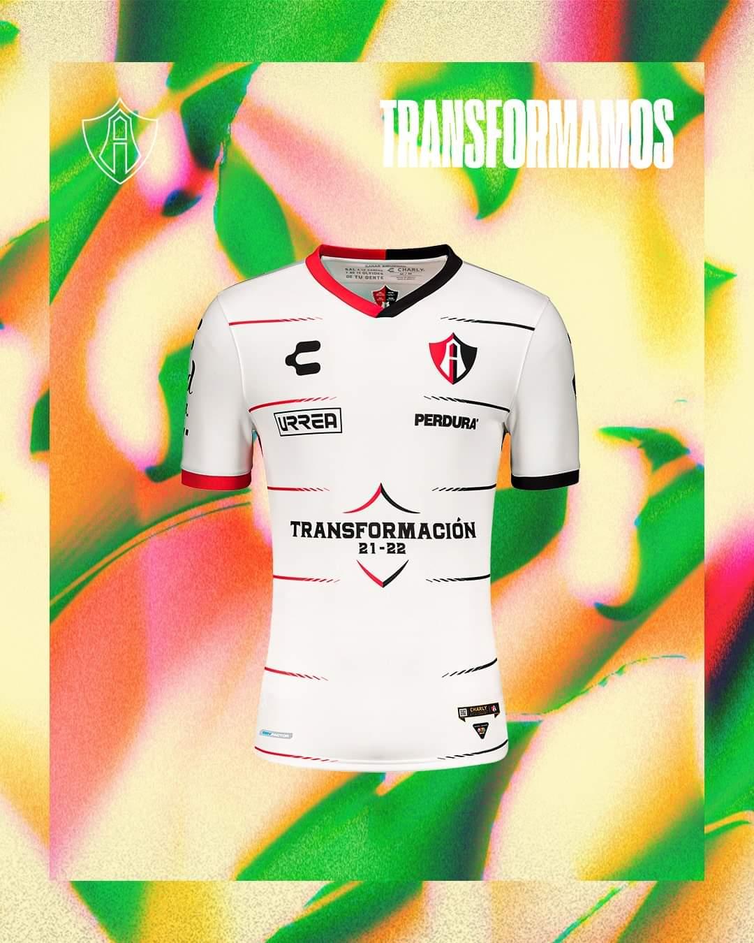 Camisas do Atlas FC 2021-2022 Charly Away