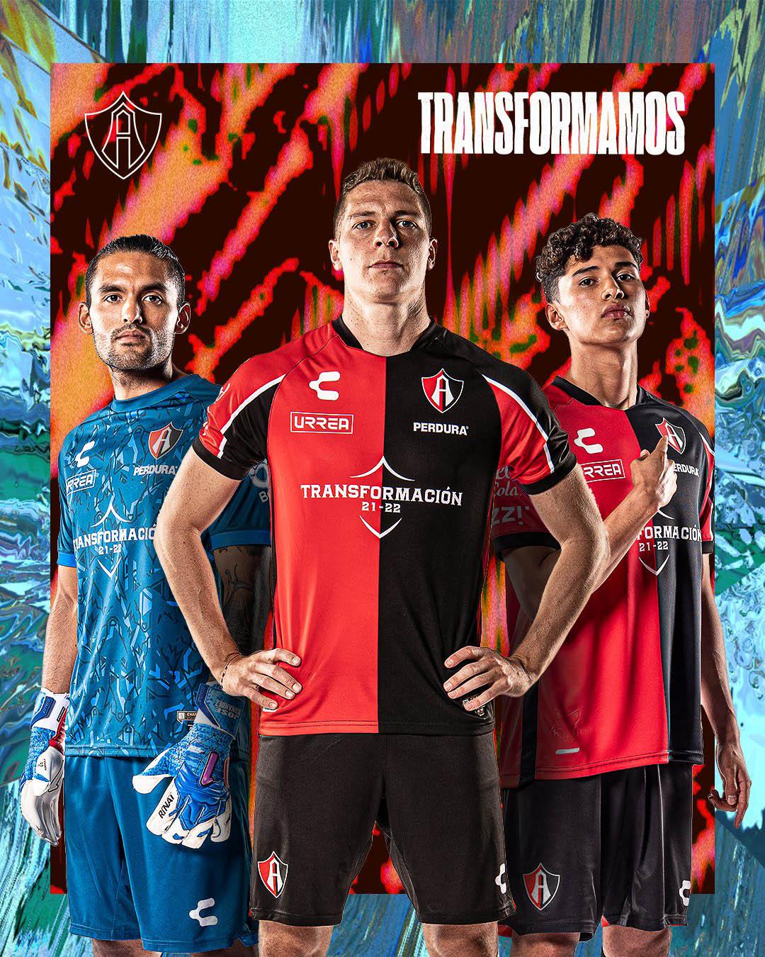 Camisas do Atlas FC 2021-2022 Charly Home