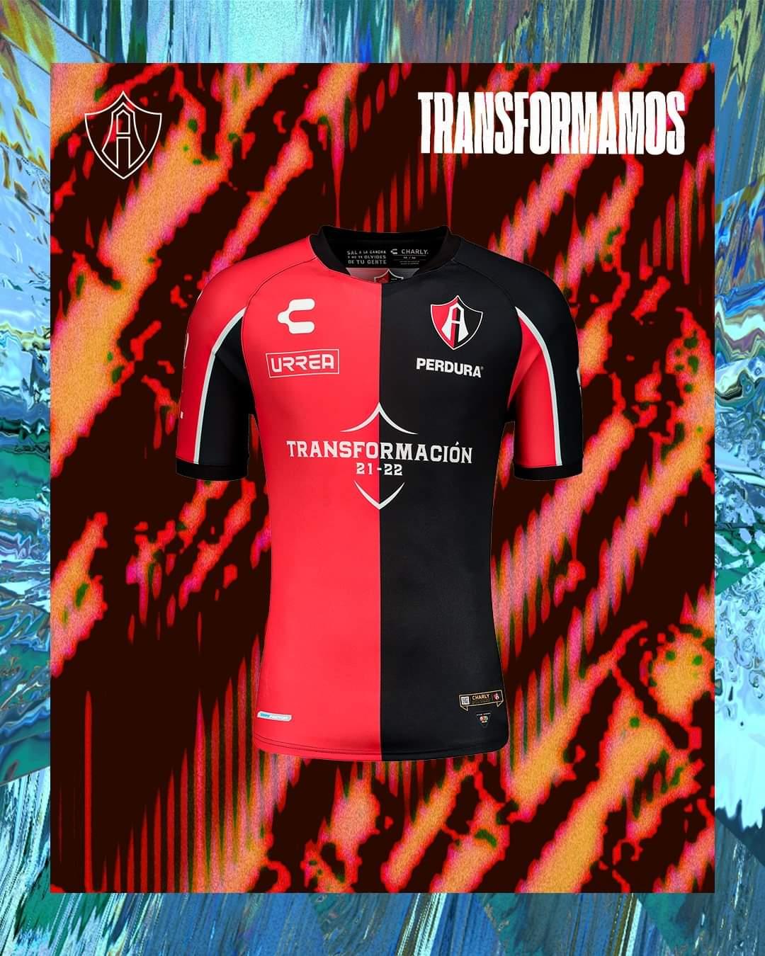 Camisas do Atlas FC 2021-2022 Charly