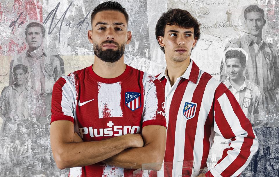 Camisas do Atlético de Madrid 2021-2022 Nike