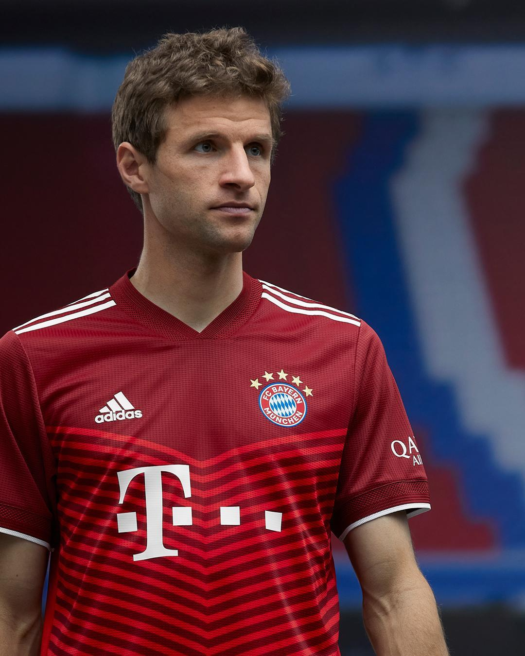Camisas do Bayern de Munique 2021-2022 Adidas