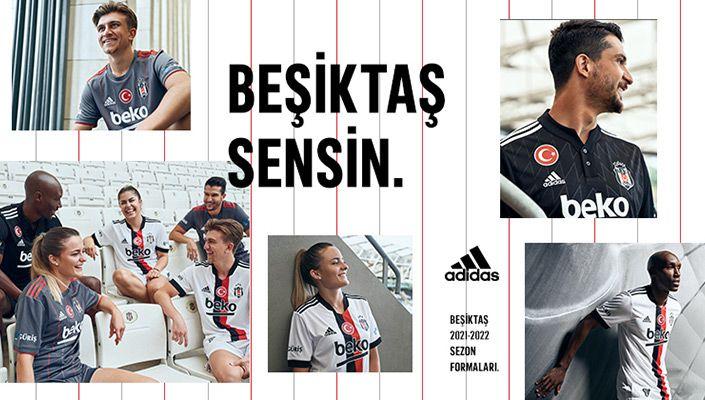 Camisas do Besiktas 2021-2022 Adidas