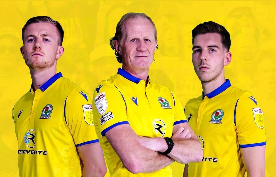 Camisas do Blackburn Rovers FC 2021-2022 Macron