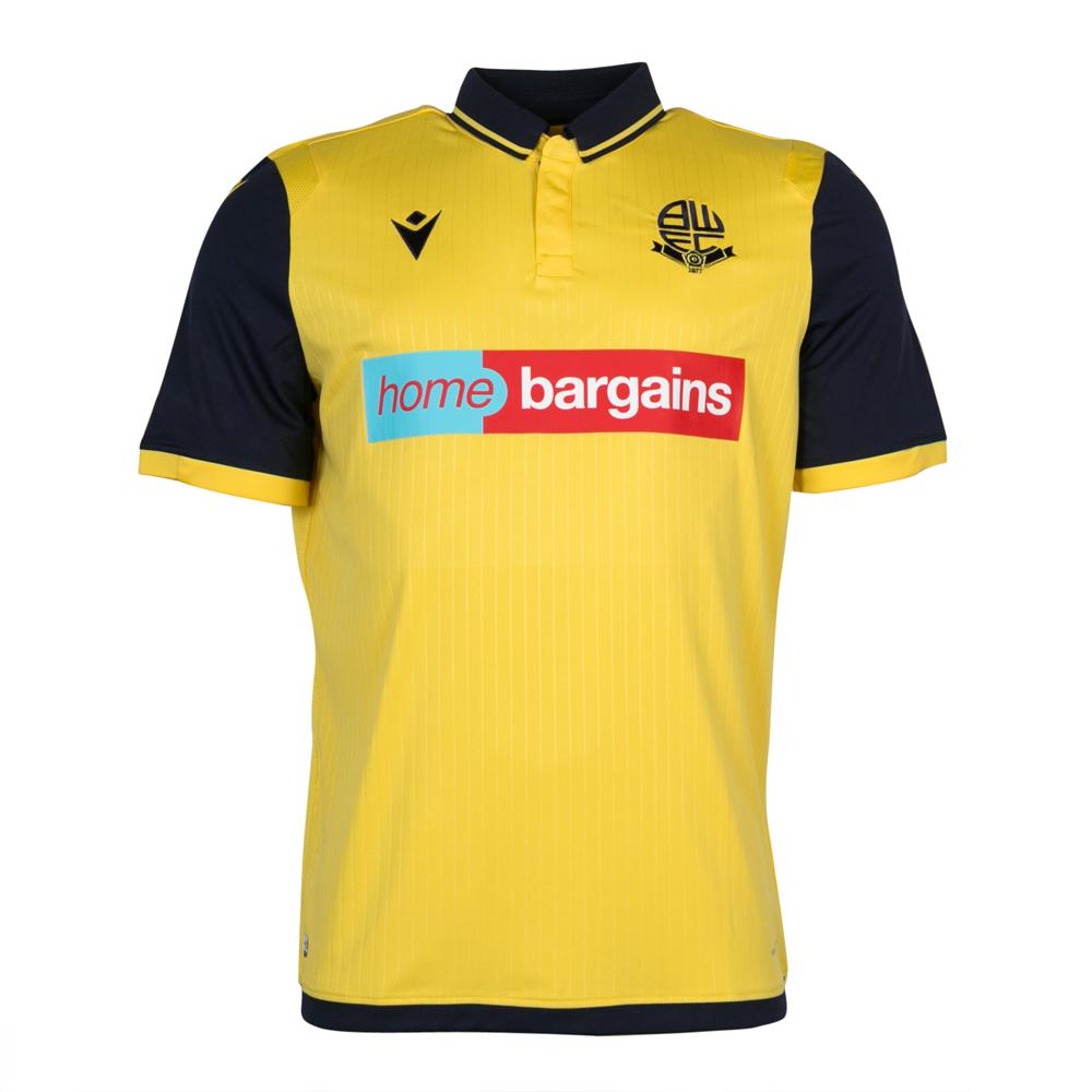 Camisas do Bolton Wanderers 2021-2022 Macron