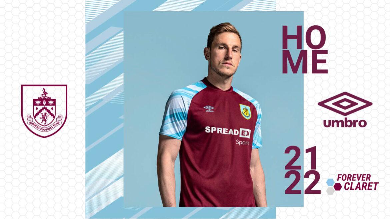 Camisas do Burnley 2021-2022 Umbro a