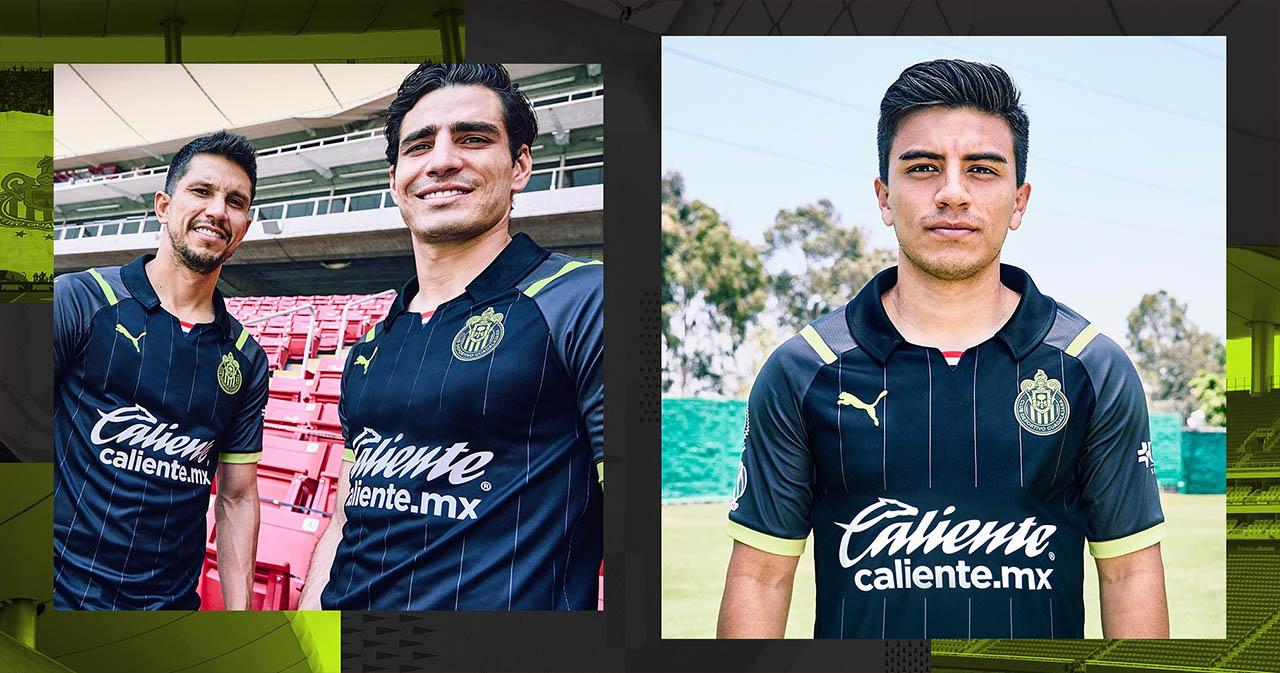 Camisas do Chivas Guadalajara 2021-2022 PUMA Away