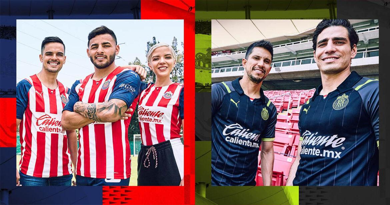 Camisas do Chivas Guadalajara 2021-2022 PUMA a