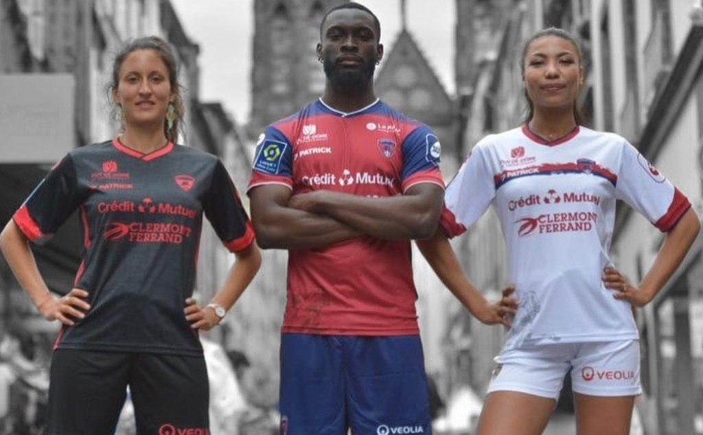 Camisas do Clermont Foot 2021-2022 Patrick