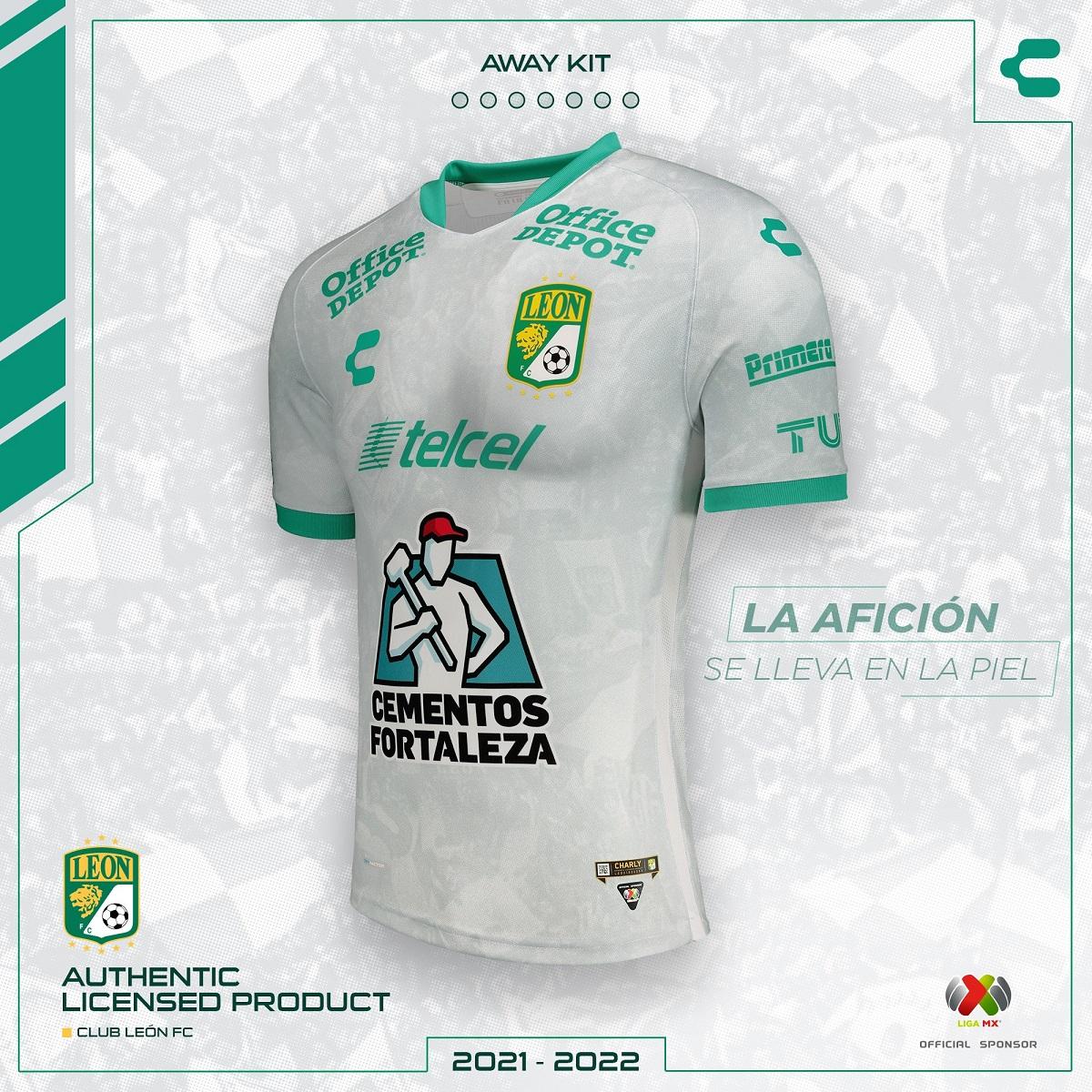 Camisas do Club León 2021-2022 Charly