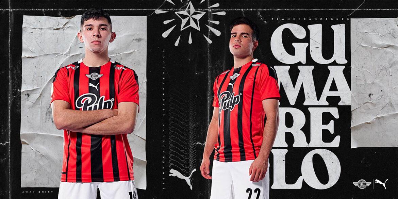 Camisas do Club Libertad 2021-2022 PUMA a