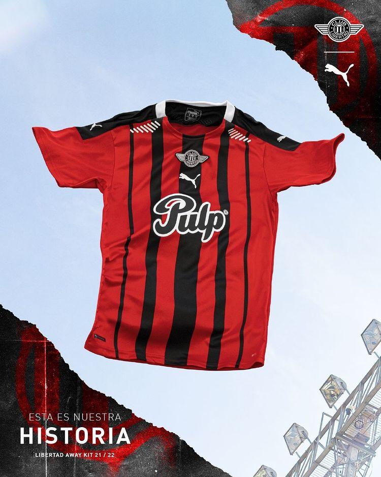 Camisas do Club Libertad 2021-2022 PUMA