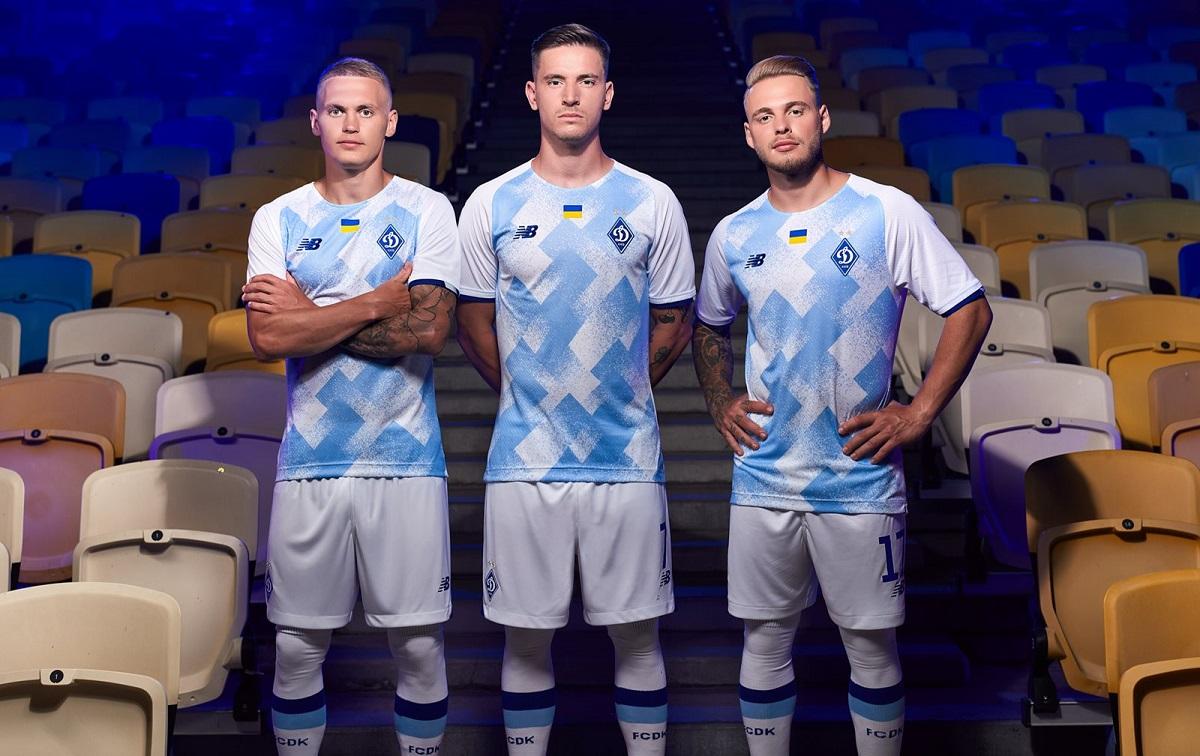 Camisas do Dynamo Kiev 2021-2022 New Balance