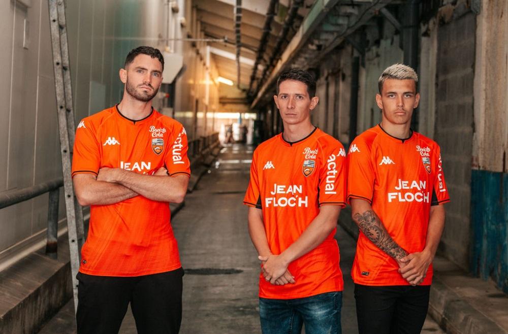 Camisas do FC Lorient 2021-2022 Kappa