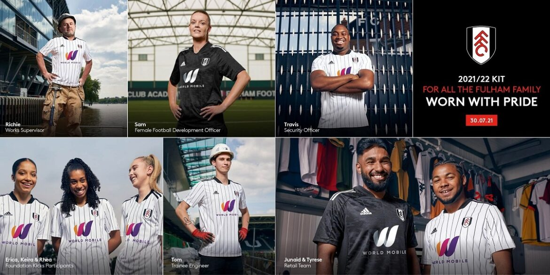 Camisas do Fulham 2021-2022 Adidas