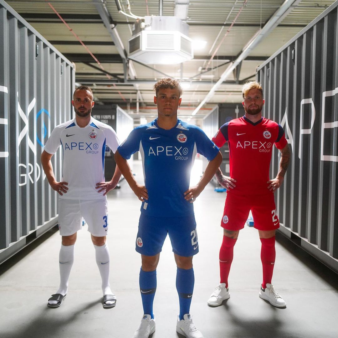 Camisas do Hansa Rostock 2021-2022 Nike