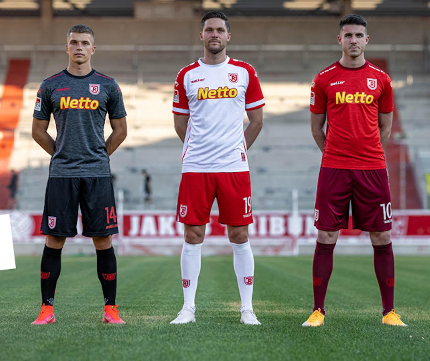 Camisas do Jahn Regensburg 2021-2022 Saller