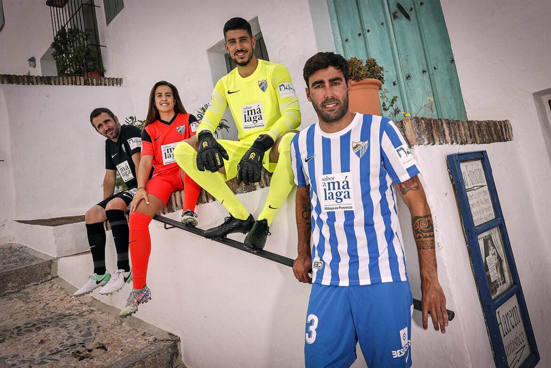 Camisas do Malaga CF 2021-2022 Nike a