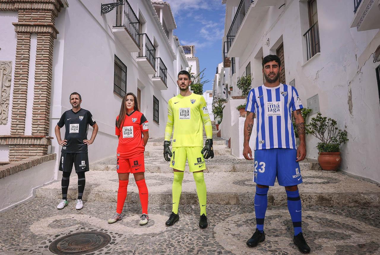 Camisas do Malaga CF 2021-2022 Nike