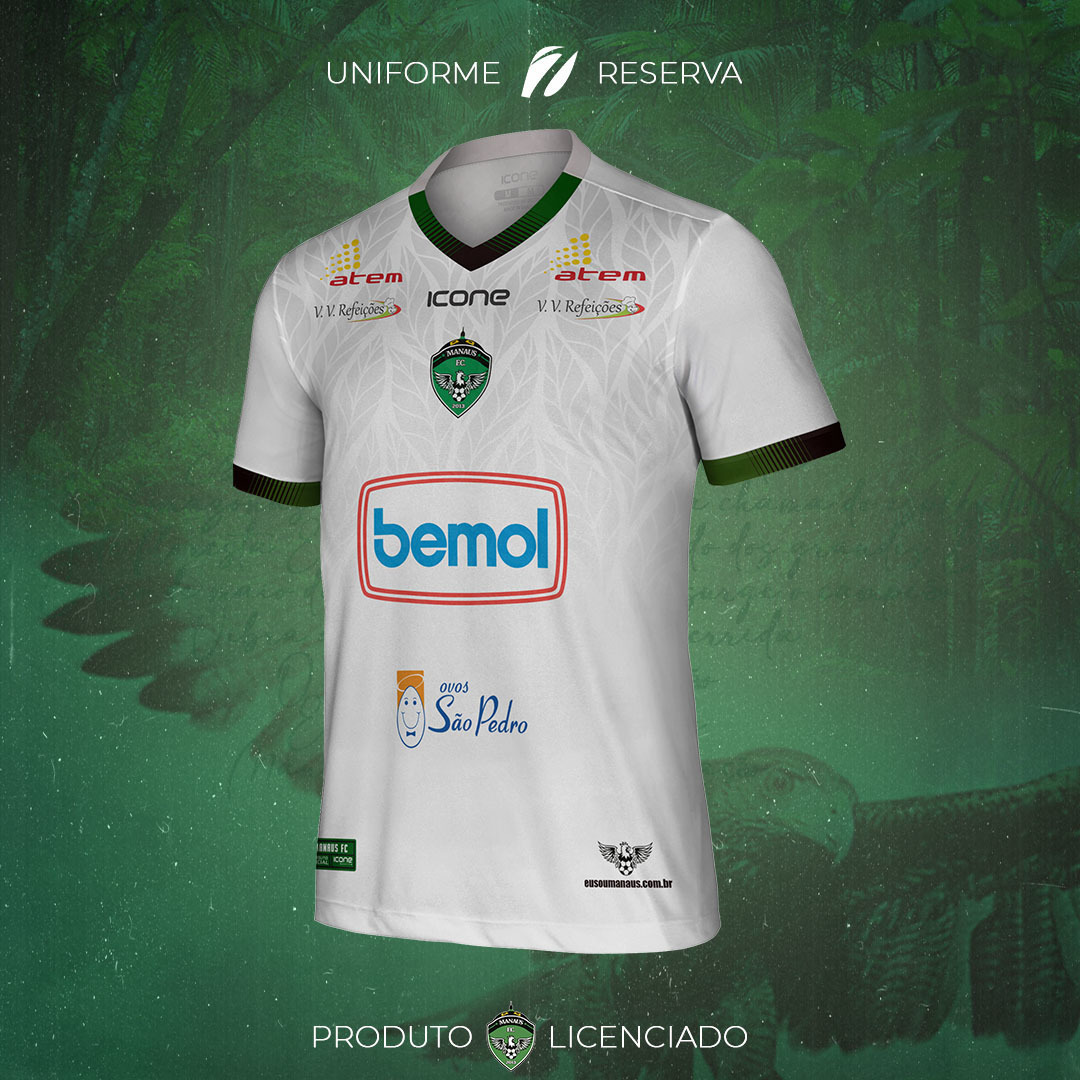Camisas do Manaus FC 2021-2022 Icone Sports Away