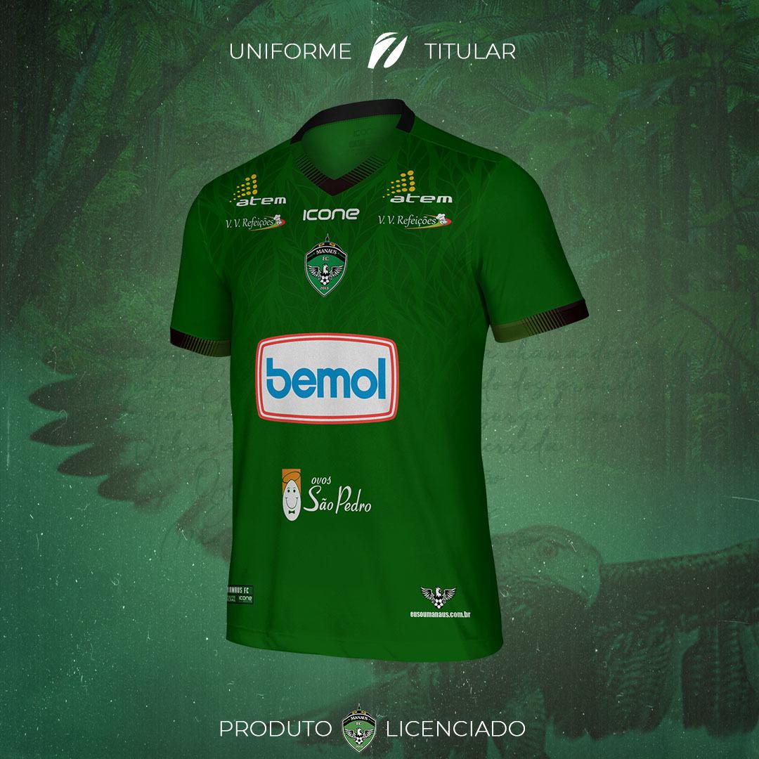 Camisas do Manaus FC 2021-2022 Icone Sports Home