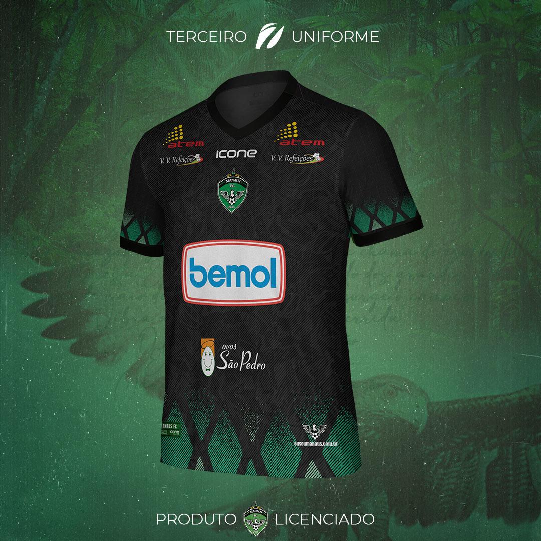 Camisas do Manaus FC 2021-2022 Icone Sports Third