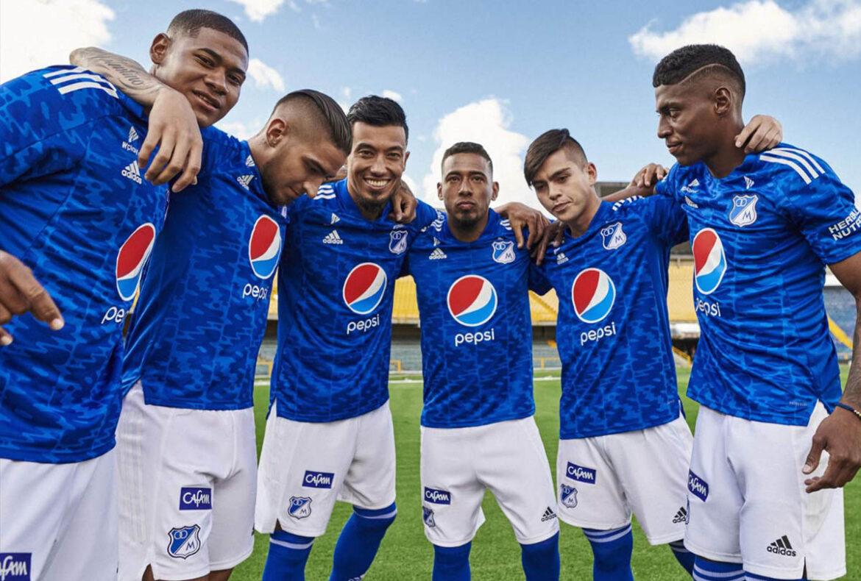 Camisas do Millonarios 2021-2022 Adidas kit a