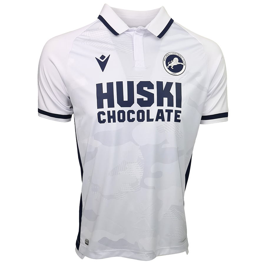 Camisas do Millwall 2021-2022 Macron