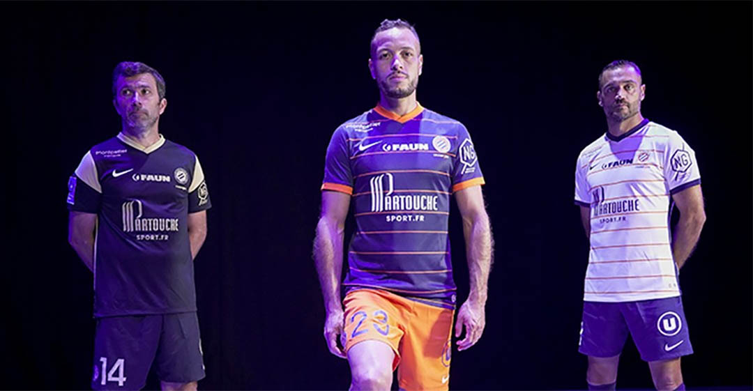 Camisas do Montpellier 2021-2022 Nike a