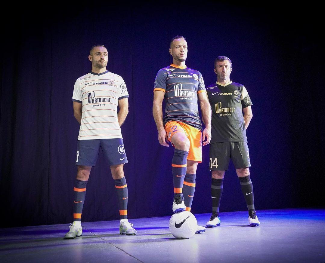 Camisas do Montpellier 2021-2022 Nike