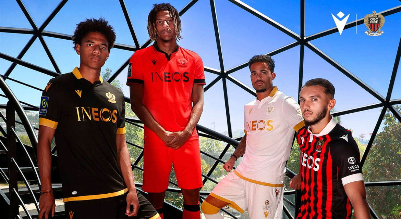 Camisas do OGC Nice 2021-2022 Macron a